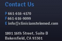 CT contact footer